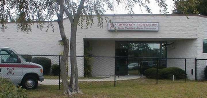 front view of Emergency Systems Inc.'s building